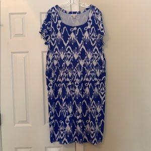 Fun plus size summer dress